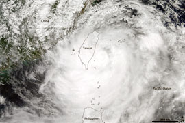 Western Pacific heading for rough weather and increased landslide risk
