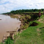 Banks of the Mekong.