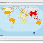 Victims of Natural disasters in 2009. Foto Credito: Center for Research on the Epidemiology of Disasters