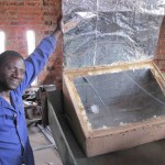 Solar box oven manufactured at KATC. Photo Credit: KATC