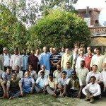 Participantes del encuantro ECOJESUIT en Tarumitra Patna, Marzo 2012.