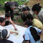 Comunidades montañosas en Viet Nam discutir sobre la tierra y planes de gestión del agua. Foto de: Pedro Walpole