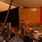 Patxi Álvarez, SJ sharing a few words during the celebration.  Photo by: Jaime Tatay, SJ