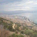 Lago Tiberiades (también lago de Galilea, Kinneret, Lago de Genesaret). Foto de: KKL