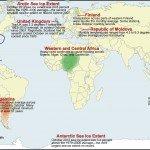 SEstado del Clima Análisis Global, Octubre de 2012. Foto de: ncdc.noaa.gov