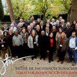 Jesuitas y colaboradores laicos en noviembre de 2008 en Madrid, España, en el Taller de Incidencia Ignaciana donde se definieron cinco áreas temáticas: migraciones, ecología, gobernanza de recursos naturales y minerales, educación y derechos humanos. Foto de: ignatianadvocacy.wordpress.com