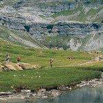 El Comité del Patrimonio Mundial de la UNESCO declarado Parque Nacional de Ordesa y Monte Perdido en los Pirineos como sitio de patrimonio mundial en 1997. Foto de: spain.info. Foto de: spain.info