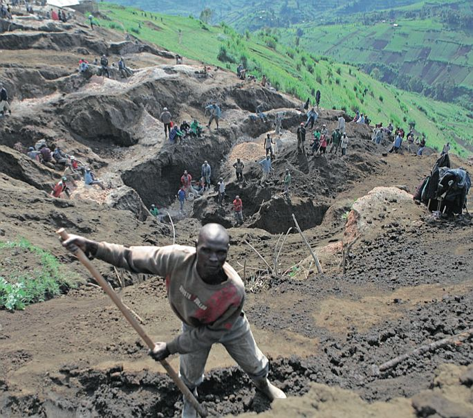 The phenomenon of artisanal mining in Katanga, DRC