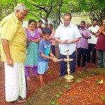 Ceremonia de apertura en Calicut, una ciudad de Kerala