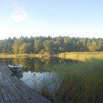 La vida serena en Gällnö (archipiélago de Estocolmo), donde la cultura y el agua están cambiando, es un lugar para la reflexión.  Foto de: P Walpole