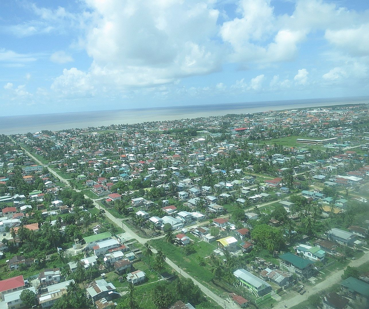 Climate change and sea level rise in Guyana