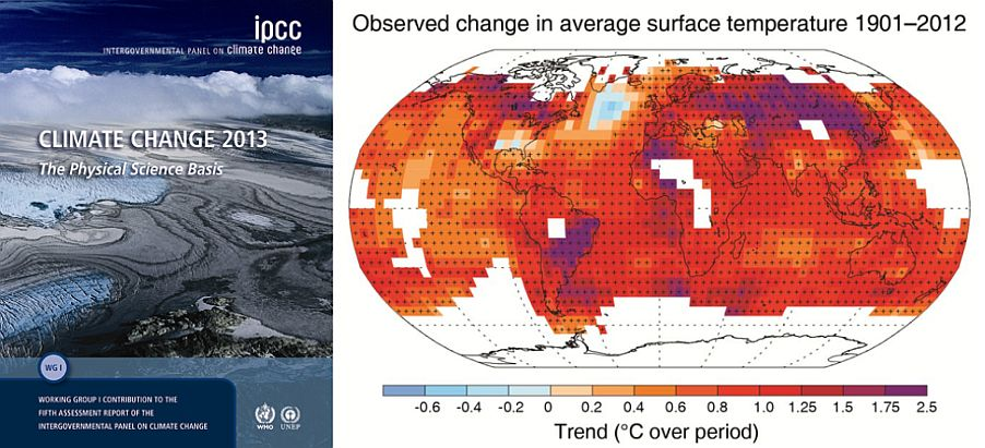 Climate change 2013: The physical science basis and the human response needed