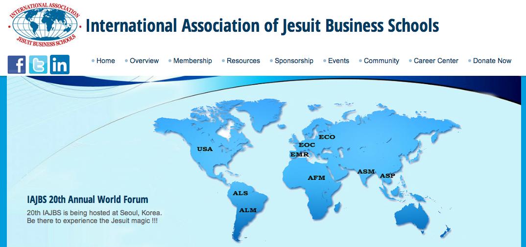 Mobiliser le réseau mondial jésuite en collaborant pour le développement global durable: Le IAJBS Annuel 20e Forum Mondial