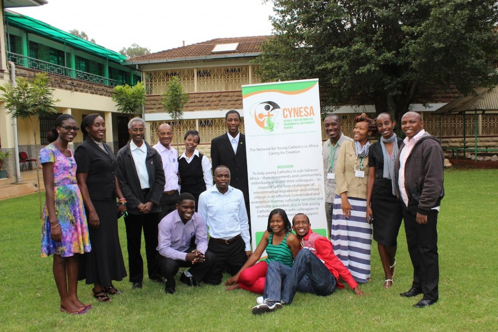 Some of the youth participants to the preparatory workshop on the climate change toolkit project