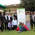 Certains des jeunes participants à l'atelier préparatoire sur le projet de boîte à outils CYNESA changement climatique