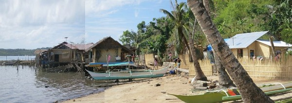 Challenges of coastal relocation in Culion, Palawan, Philippines. Photo credit: P Walpole