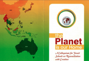 The Planet is Our Home: A Colloquium for Jesuit schools on Reconciliation with Creation