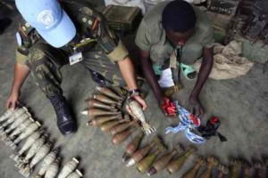 DRC's natural resources, especially its minerals, are used to finance the guns and materiel that in turn sustain the conflicts. Photo credit: EurActiv.com