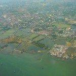Zonas costeras de alto riesgo en muchas partes de Filipinas donde viven los más vulnerables, expuestos a un clima y pobreza extrema. Foto de: P Walpole