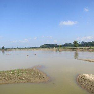 Río Kok, afluente del Mekong. Foto des: P Walpole