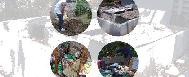 Los Jesuitas establecer adecuada gestión de los residuos en la Casa Loyola de Estudios en la ciudad de Quezon, Filipinas. Foto de: C Aguinaldo, ESSC