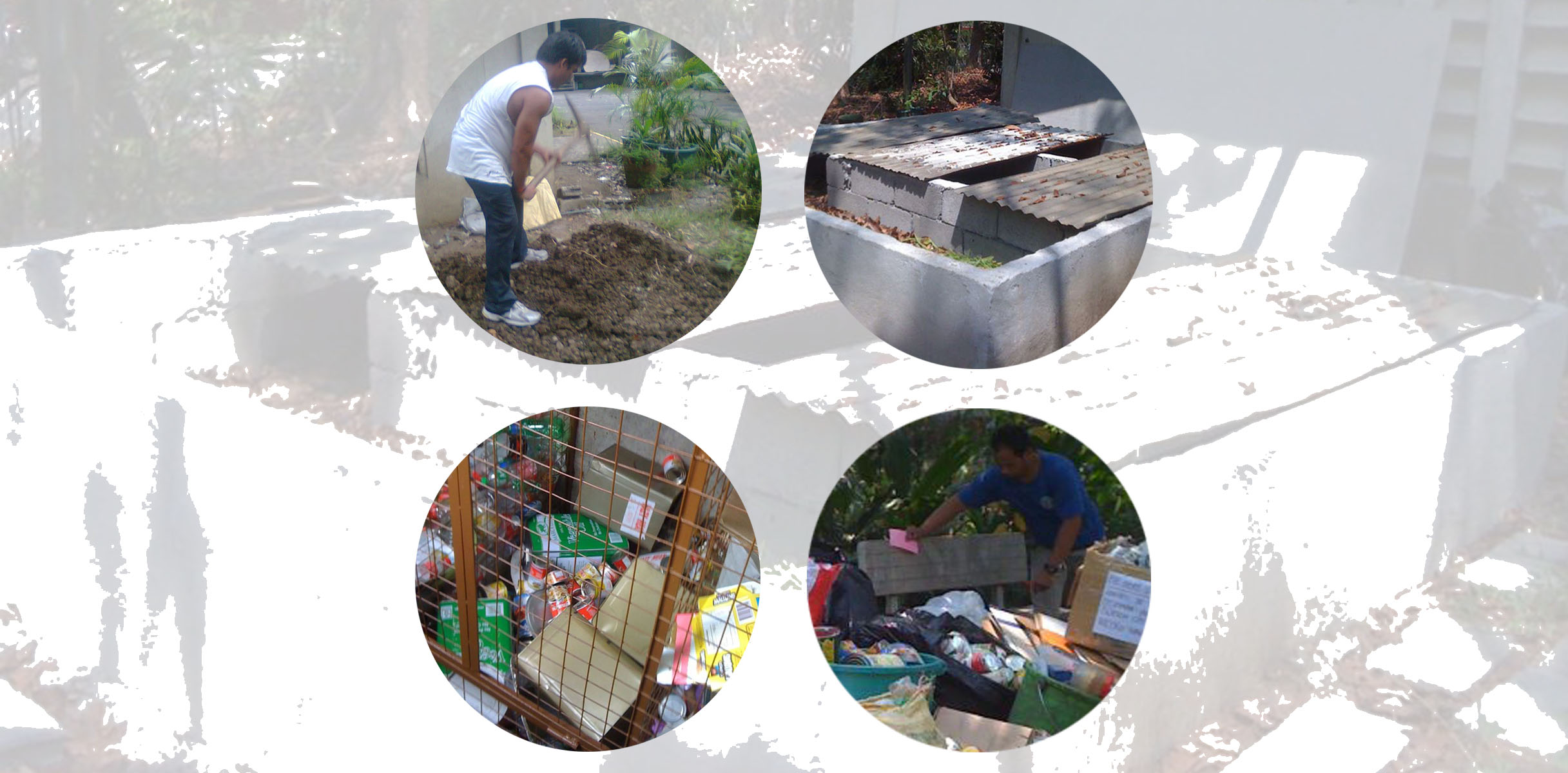 Starting with kitchen waste management for environment for Kitchen set environment