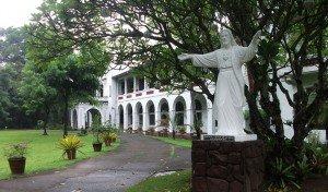 El noviciado del Sagrado Corazón en Novaliches, en la ciudad de Quezon, Filipinas ha albergado a los jesuitas hace más de 75 años. Foto de: C Aguinaldo, ESSC