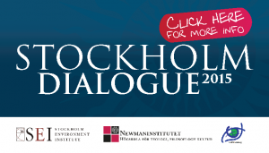 The Stockholm Dialogue 2015