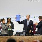 Le projet d'accord révisé de la COP21 sur le climat après la première semaine, pour la discussion de la deuxième semaine.