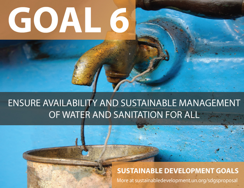"""""""Goal six of the UN's Sustainable Development Goals (SDGs) deals explicitly with the linked issues of water and sanitation. But some of the key issues on water are invisible. The water is either deep underground or flowing in atmospheric rivers of moisture high in the sky. Water may be polluted with invisible chemicals, and changes to water availability and quality may be affecting marginalized people in remote areas. In some places, all of the above coincide."""" (World Economic Forum, September 2015)."""