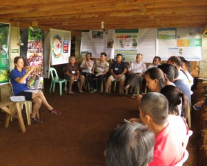 Developing 60 action points in response to ecological concerns in Asia Pacific. Photo credit: P Walpole