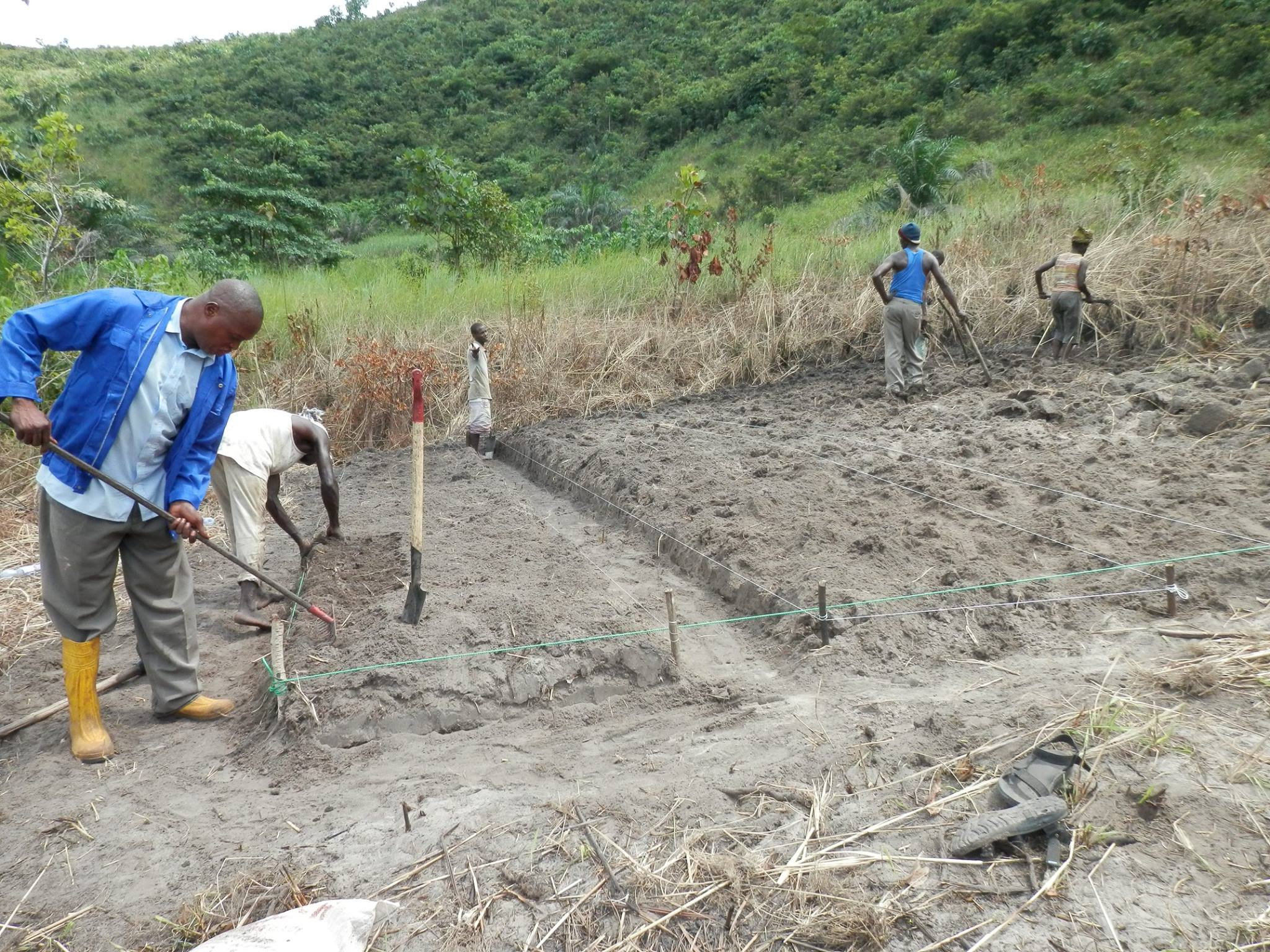 CERED research focuses on the impact of climate change in the Kinshasa area. Photo credit: CERED
