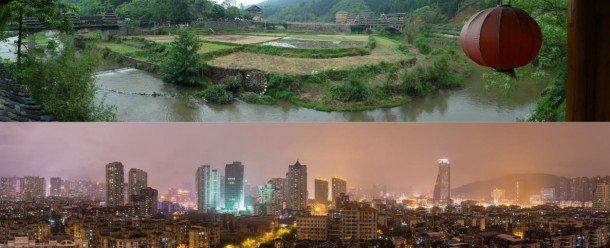 La China rural y urbana en busca de un desarrollo sostenible. Foto de: thenatureofcities.com