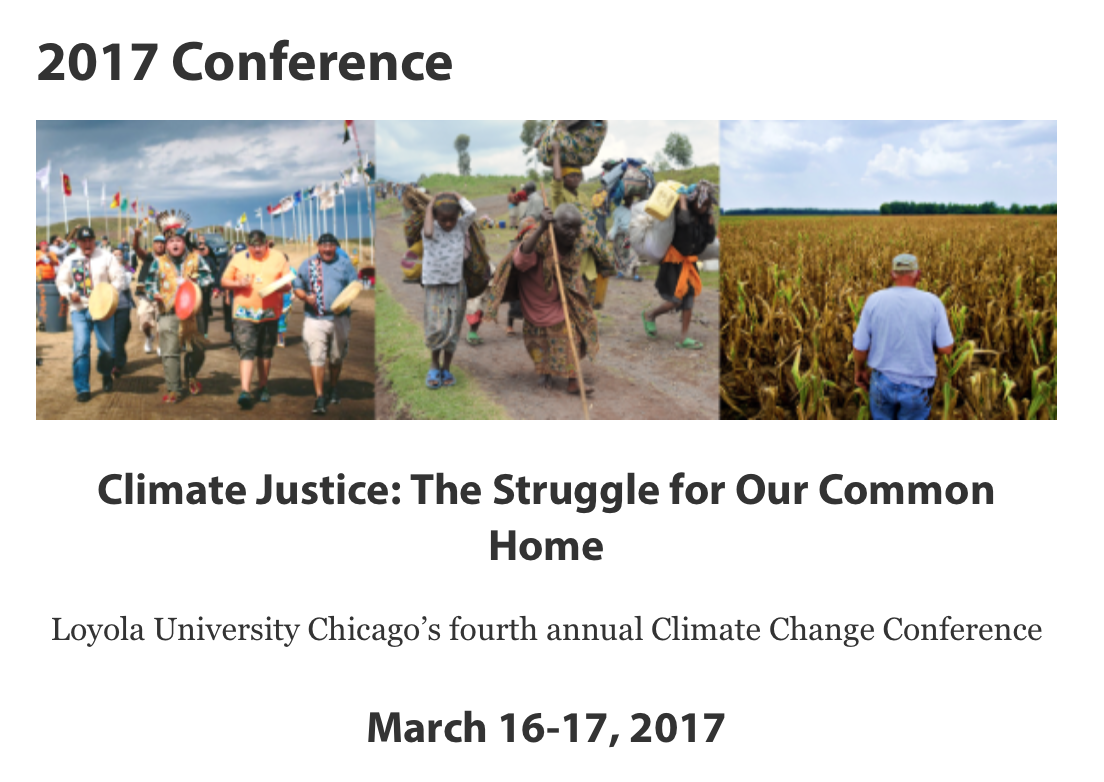 Struggling for climate justice in our common home