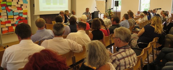 Laudato Si' is the core of many discussions during the 2017 World Church and Mission annual conference in Würzburg, Germany, and how care for our common home is integrated in development policies so that better policies lead to better projects. Photo credit: P Walpole