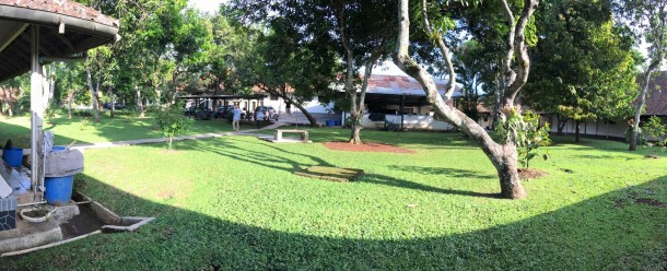 The organized garden at Puna Unit