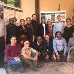 El equipo de Ecojesuit en Bonn, noviembre de 2017, aprendiendo del proceso global de la COP23.