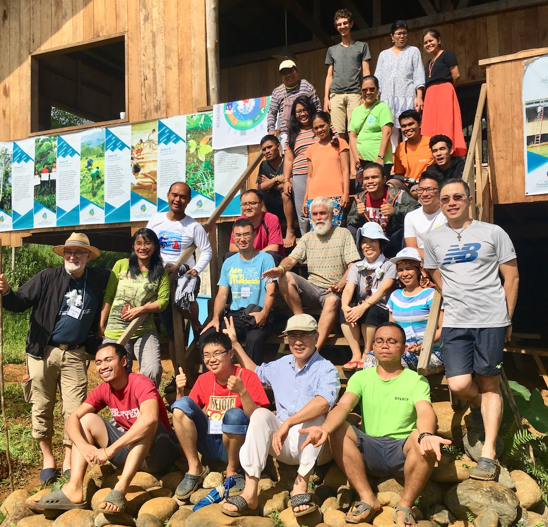 An enormous workshop experience and reflection on Living Laudato Si'