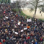 On 10 January, 3,000 young people took to the streets of Brussels, calling for climate action outside the European Parliament. A week later on 17 January, 12,500 came out (part of the crowd shown in this photo).