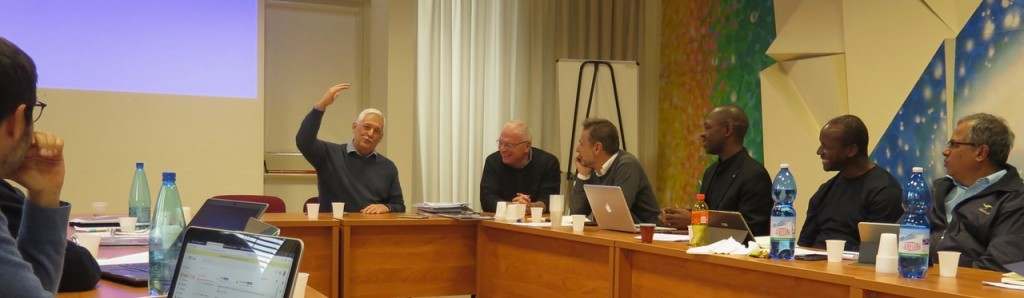 """""""Higher education has a major responsibility and universities are an experience of the Church in a different way – another way of being together,"""" Father Sosa sharing the Universal Apostolic Preferences during the Board Meeting of the International Association of Jesuit Universities in Rome, 19 February 2019"""