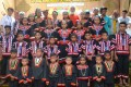 """Pulangiyen youth and APC school graduates were reminded that """"(y)ou do not just study to understand the world; you study so you can change the world."""""""
