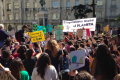 Students in Madrid, Spain joined the global call for school strikes for climate on 15 March. Photo credit: J Tatay