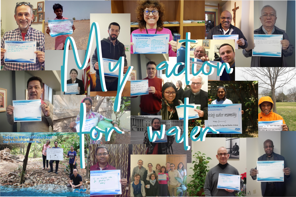 Ecojesuit takes Action for Water