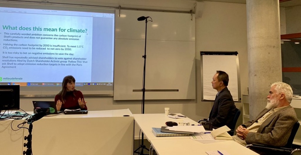 Commissioner Roberto Cadiz of the Philippine Commission of Human Rights and NICC chair shared an overview of the national inquiry during the Nyenrode conference, with Pedro Walpole SJ, technical adviser to the NICC panel