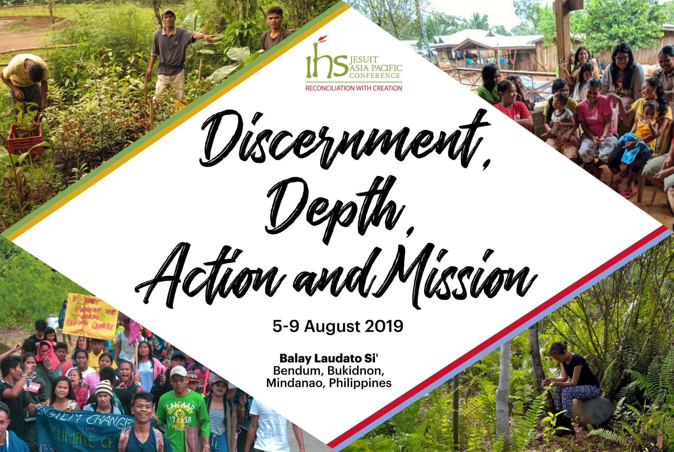 JCAP workshop on discernment, depth, action and mission through the UAPs