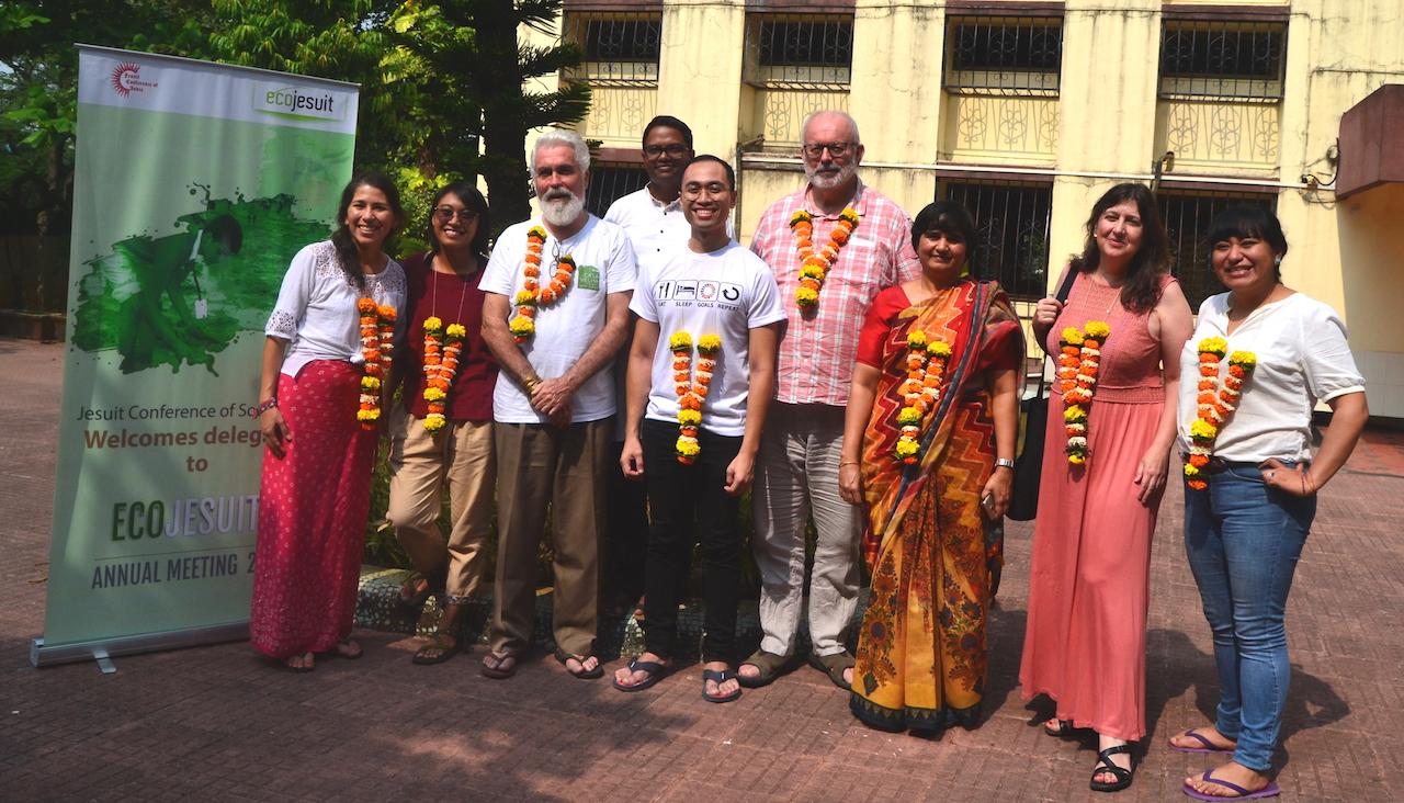 A warm welcome in Mumbai, India for the 2019 Ecojesuit Annual Meeting team
