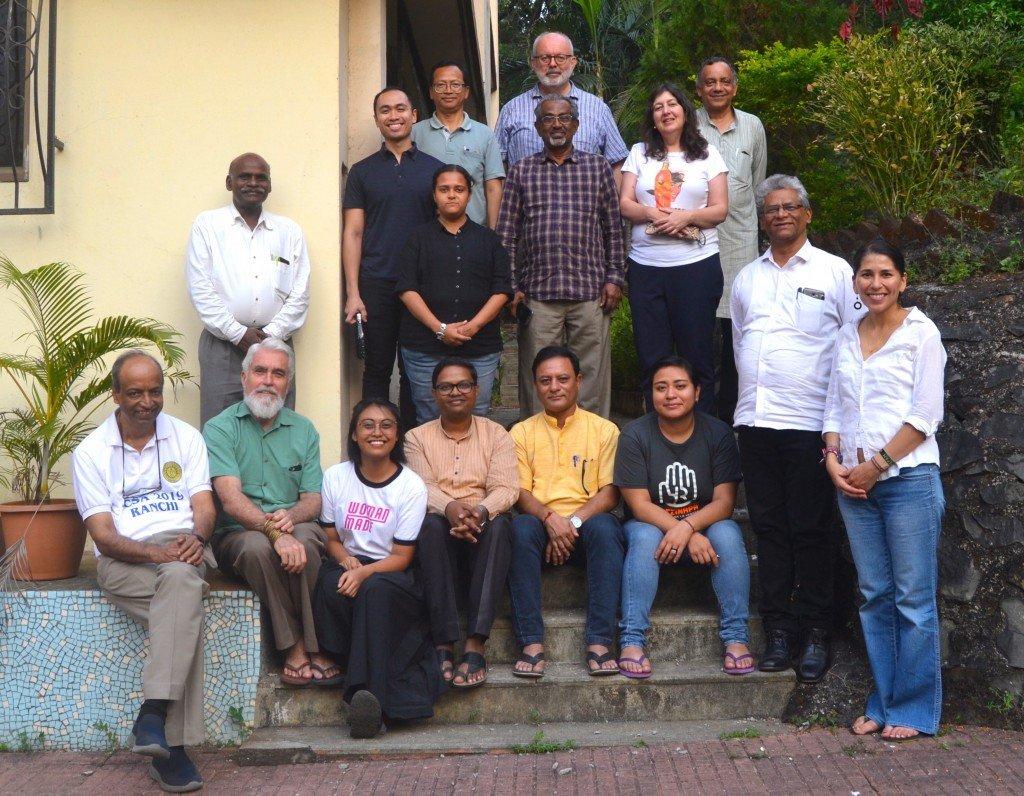 2019 Annual Ecojesuit Team in Mumbai, India, 22 to 24 November 2019 (Photo credit: R Javier)