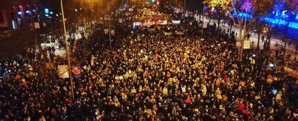 Marching in Madrid, COP25, 6 December (Twitter - @Greta Thunberg)