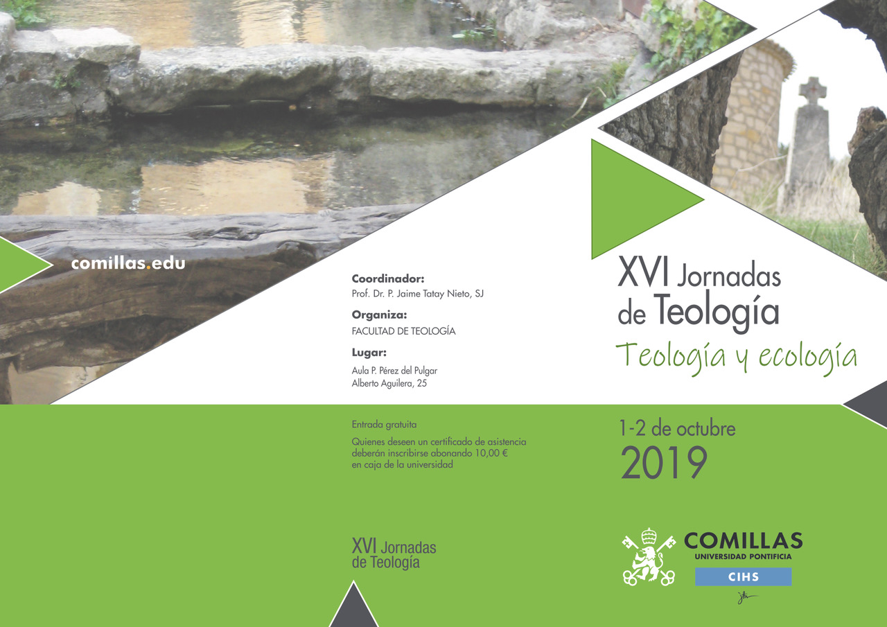 Reflections on the XVI Comillas Theology Conference on Ecology