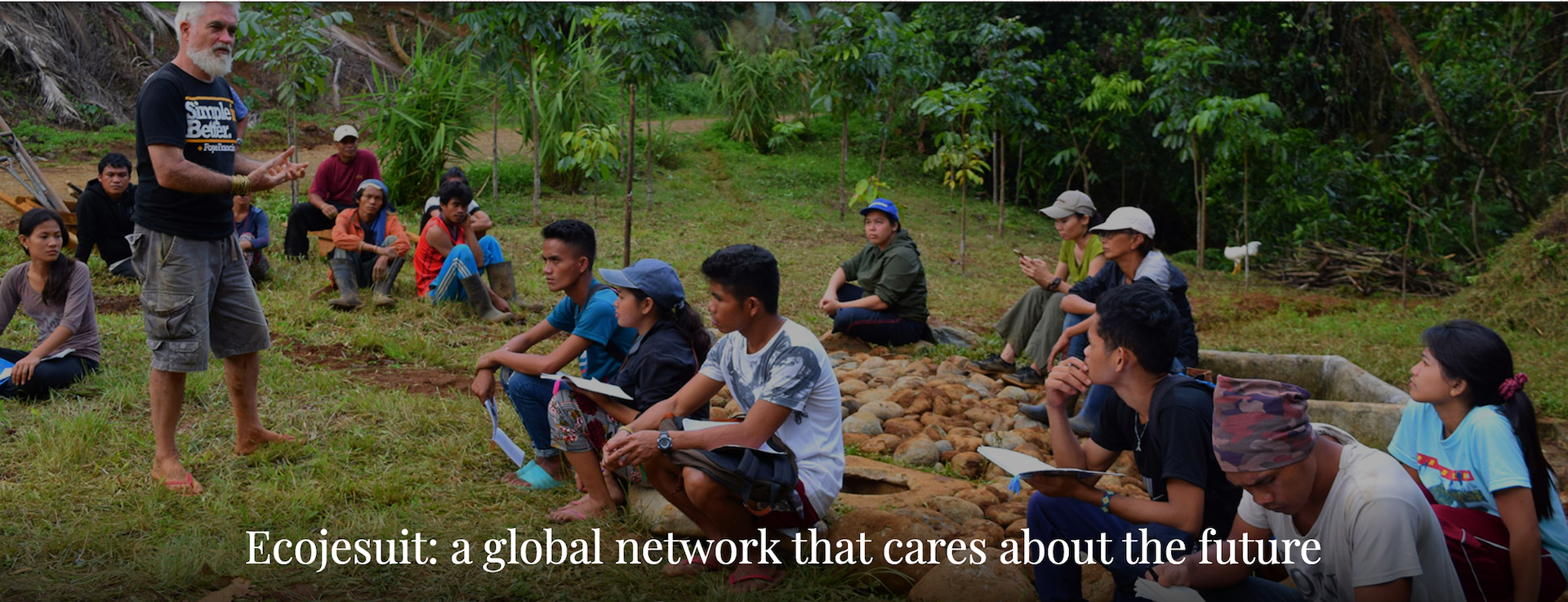 Ecojesuit as a global network that cares about the future